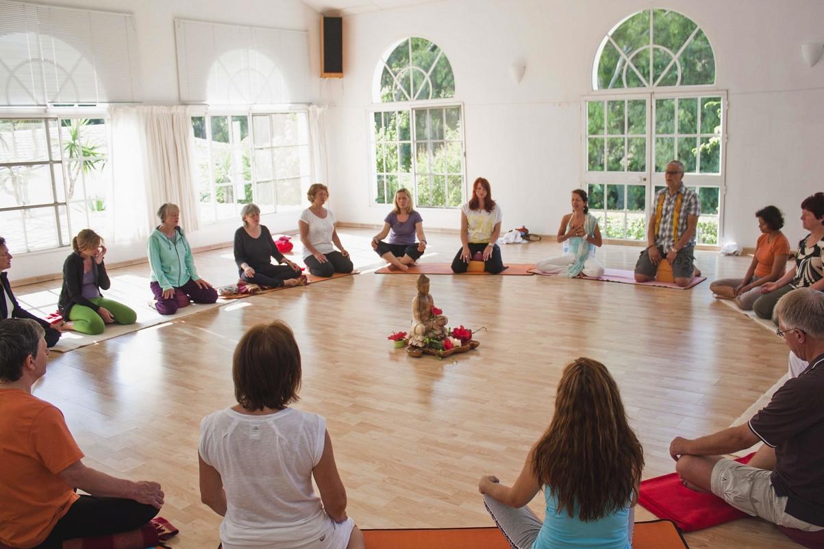 Yoga Sitzkreis