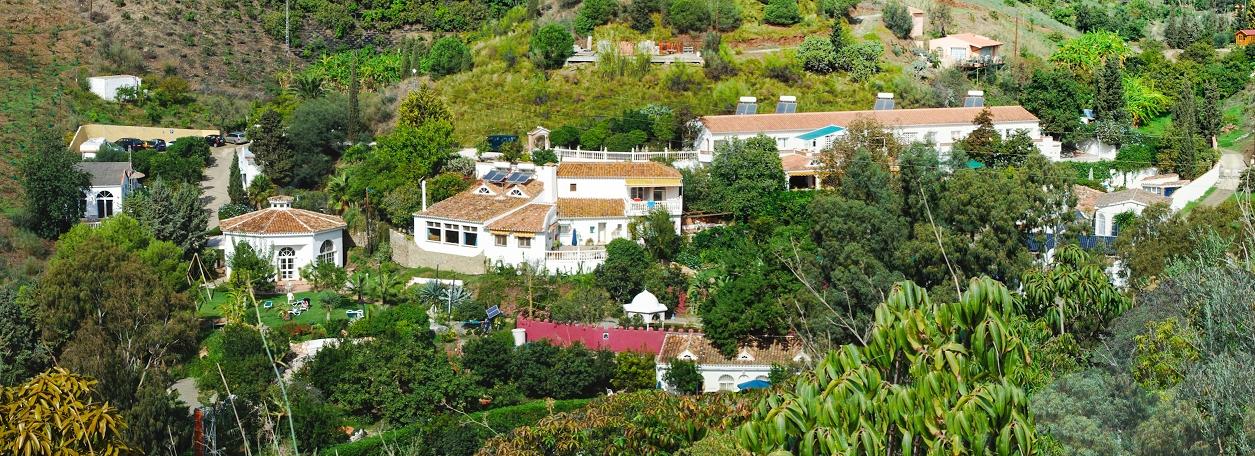 Villa von oben